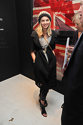 DONNA AIR at a private view of Russell Young's work entitled American Envy held at Scream Gallery, 34 Bruton Street, London on 7th April 2011.