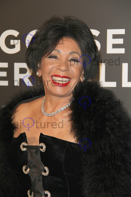 Shirley Bassey Grey Goose Winter Ball to benefit the Elton John AIDS Foundation, Battersea Evolution, London, UK, 29 October 2011:  Contact: Rich@Piqtured.com +44(0)7941 079620 (Picture by Richard Goldschmidt)