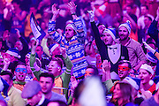 Dart fans during the William Hill World Darts Championship at Alexandra Palace, London, United Kingdom on 27 December 2016. Photo by Shane Healey.