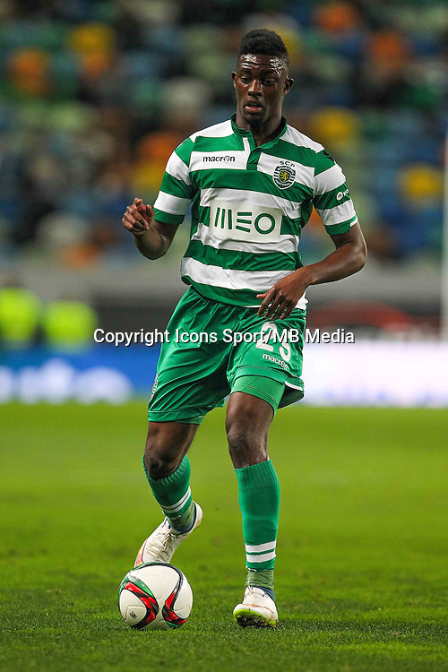 Hadi Sacko  - 28.01.2015 - Sporting / Vitoria Setubal -Coupe de la ligue- Portugal-<br /> Photo : Carlos Rodrigues /  Icon Sport