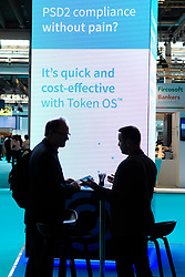 &copy; Licensed to London News Pictures.<br /> 27/06/2017<br /> General views of The Money 20/20 Europe exhibition held at The Bella Centre in Copenhagen, Denmark,  June 27th 2017<br /> The Money 20/20 Europe exhibition is the largest FinTech event in Europe and show cases new and emerging technologies in the financial sector<br /> Photo credit should read Ant Upton/LNP