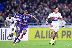 April 1, 2018 - Lyon, France - 11 MEMPHIS DEPAY (OL) - 18 STEVEN FORTES  (Credit Image: © Panoramic via ZUMA Press)