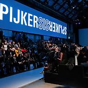 NLD/Amsterdam/20110127 - AIFW winter 2011, show Spijkers en Spijkers, tribune