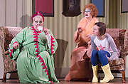 Coraline <br /> The Royal Opera production at The Barbican Theatre, London, Great Britain <br /> General Rehearsal <br /> 26th March 2018 <br /> (Press Night: Thursday 29 March at 7pm)<br /> <br /> Pictures EMBARGO'd until 2100hrs Thursday 29th March 2018 <br /> <br /> Music by Mark-Anthony Turnage<br /> <br /> Libretto by Rory Mullarkey after Neil Gaiman's Coraline<br /> <br /> Conductor Sian Edwards<br /> <br /> Directed Aletta Collins<br /> <br /> Set designed by Giles Cadle<br /> <br /> Costume designer Gabrielle Dalton<br /> <br /> Lighting designer Matt Haskins<br /> <br /> Mary Bevan as Coraline<br /> <br /> <br /> Gillian Keith as Miss Spink<br /> <br /> Frances McCafferty as Miss Forcible