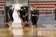 DESCRIZIONE : Roma Lega Basket A 2012-13  Raduno Virtus Roma<br /> GIOCATORE : Gianluca Marchetti<br /> CATEGORIA : allenamento curiosita<br /> SQUADRA : Virtus Roma <br /> EVENTO : Campionato Lega A 2012-2013 <br /> GARA :  Raduno Virtus Roma<br /> DATA : 23/08/2012<br /> SPORT : Pallacanestro  <br /> AUTORE : Agenzia Ciamillo-Castoria/M.Simoni<br /> Galleria : Lega Basket A 2012-2013  <br /> Fotonotizia : Roma Lega Basket A 2012-13  Raduno Virtus Roma<br /> Predefinita :