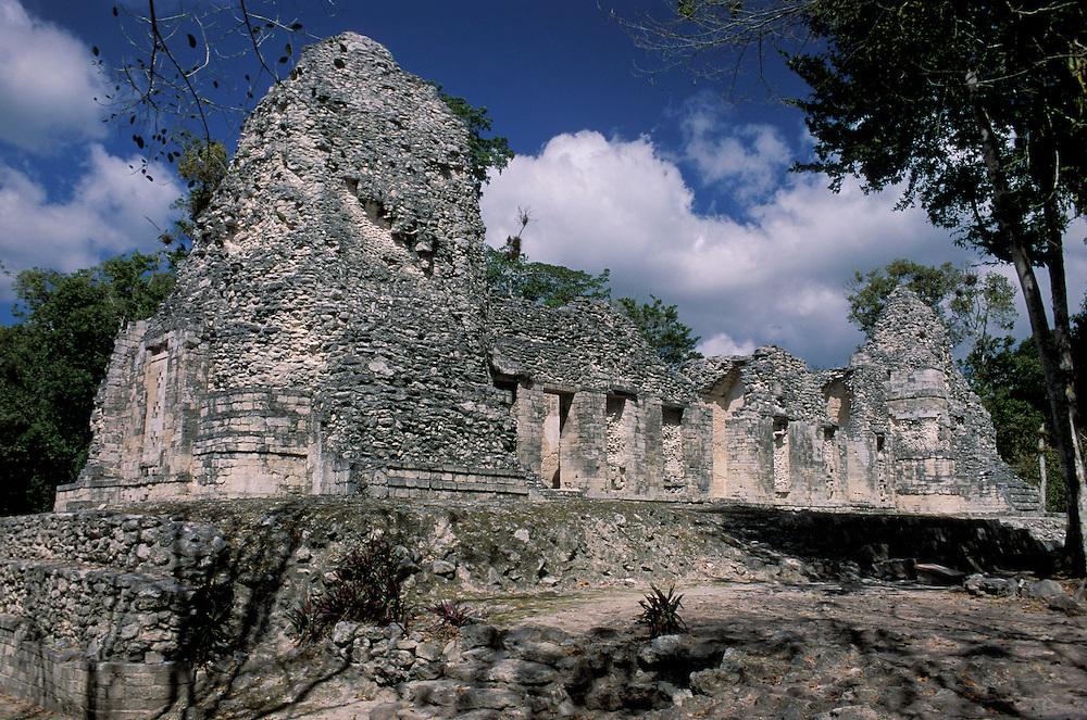 At Zona Arquelogica de Chicanna ,Quintana Roo, Mexico