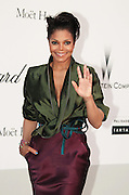 19.MAY.2011. CANNES<br /> <br /> JANET JACKSON ARRIVING AT THE AMFAR PARTY HELD AT THE HOTEL DU CAP IN ANTIBES AT THE 64TH CANNES INTERNATIONAL FILM FESTIVAL 2011 IN CANNES, FRANCE.<br /> <br /> BYLINE: EDBIMAGEARCHIVE.COM<br /> <br /> *THIS IMAGE IS STRICTLY FOR UK NEWSPAPERS AND MAGAZINES ONLY*<br /> *FOR WORLD WIDE SALES AND WEB USE PLEASE CONTACT EDBIMAGEARCHIVE - 0208 954 5968*