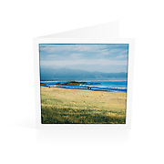 Photo Art Greeting Card | South West Rocks Collection | Early Morning, Main Beach | Printed on lightly textured matte art paper stock, blank inside. White envelope included, packaged in sealed poly bag. Dimensions: Card 123 x 123mm. Envelope 130 x 130mm.<br />
