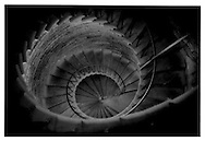 Downward spiral, St. Isaac's Cathedral, St. Petersburg, Russia.