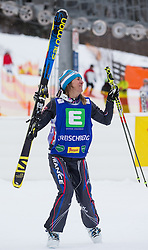 25.01.2014, Kreischberg, St. Georgen, AUT, Ski Cross Weltcup, im Bild Ophelie David (FRA, 1. Platz) // 1st place Ophelie David of France during the Winner award Ceremony of FIS Ski Cross World Cup at the Kreischberg in St. Georgen, Austria on 2014/01/25. EXPA Pictures © 2014, PhotoCredit: EXPA/ Johann Groder