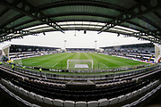 A rain soaked pitch will welcome the players for Ladbrokes Scottish Premiership match between St Mirren and Rangers at the Simple Digital Arena, Paisley, Scotland on 3 November 2018.