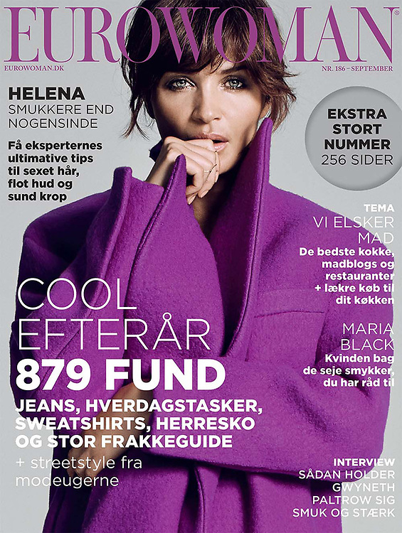 Fashion shoot helena christensen