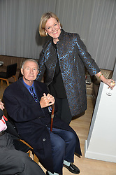 SIR & LADY TERENCE CONRAN at the Liberatum Cultural Honour For Sir Terence Conran Dinner held at the Sanderson Hotel, Berners Street, London on 19th November 2013.