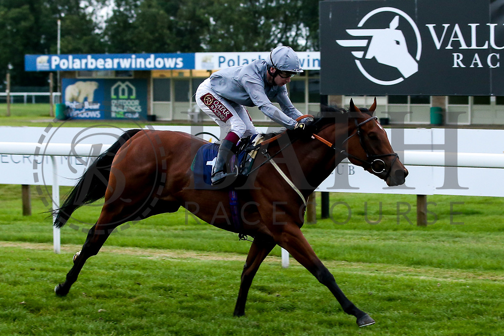 Whisper Aloud ridden by Oisin Murphy and Trained by Archie Watson wins the Novice Stakes - Mandatory by-line: Robbie Stephenson/JMP - 27/08/2019 - PR - Bath Racecourse - Bath, England - Race Meeting at Bath Racecourse
