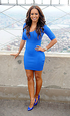JULY 25 2013 Mel B Visits The Empire State Building