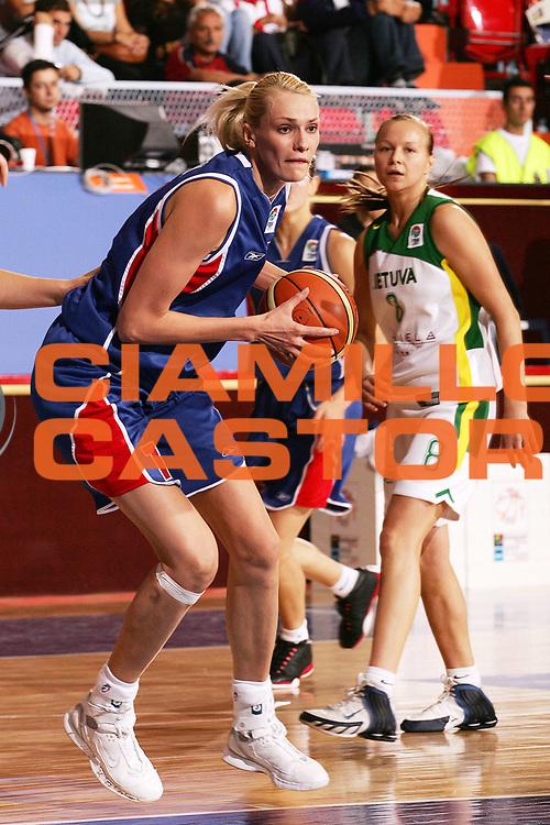 DESCRIZIONE : Ankara Eurobasket Women 2005 Russia-Lituania<br /> GIOCATORE : Stepanova<br /> SQUADRA : Russia<br /> EVENTO : Eurobasket Women 2005 Campionati Europei Donne 2005<br /> GARA : Russia Lituania Russia Lithuania<br /> DATA : 10/09/2005<br /> CATEGORIA :<br /> SPORT : Pallacanestro<br /> AUTORE : Ciamillo&amp;Castoria/Fiba Europe