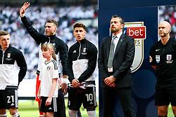 Tom Cairney and Fulham manager Slavisa Jokanovic - Rogan/JMP - 26/05/2018 - FOOTBALL - Wembley Stadium - London, England - Aston Villa v Fulham - Sky Bet Championship Play-Off Final.
