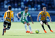 GOTHENBURG, SWEDEN - APRIL 22: Jiloan Hamad of Hammarby during the Allsvenskan match between BK Hacken and Hammarby IF at Bravida Arena on April 22, 2018 in Gothenburg, Sweden. Photo by Nils Petter Nilsson/Ombrello ***BETALBILD***