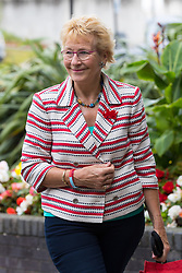 © Licensed to London News Pictures . 29/09/2017 . Torquay , UK . CHRISTINE HAMILTON arrives at the conference . UKIP is due to announce the winner of a leadership election which has the potential to split the party . Photo credit: Joel Goodman/LNP