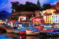 """Sorrento Marina Grande pastel colored evening""…<br />