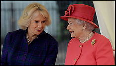 OCT 29 2013 The Queen and The Duchess of Cornwall