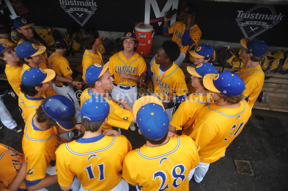 Oxford High vs. George County in the MHSAA Class 5A state championship at Trustmark Park in Pearl, Miss. on Thursday, May 21, 2015. Oxford won 9-0 to win its second state title in baseball and its first since 2005.