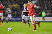 Charlton Athletic defender Jason Pearce (6) during the EFL Sky Bet Championship match between Millwall and Charlton Athletic at The Den, London, England on 9 November 2019.