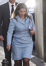 © Licensed to London News Pictures. 11/12/2019. London, UK. PRINCESS HAYA BINT AL HUSSEIN is seen arriving at The Family Court devision of the Royal Courts of Justice in London where Sheikh Mohammed bin Rashid Al Maktoum and his wife Princess Haya Bint Al Hussein are currently in legal dispute over custody of their children. Princess Haya Bint Al Hussein has applied for a protection order and is seeking wardship of her children. Photo credit: Ben Cawthra/LNP