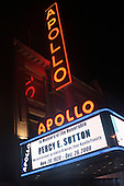 Apollo Theater bids farewell to Percy Sutton at West 125th Street on December 26, 2009