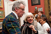 ANDREW BARROW, Party to celebrate the publication of Animal Magic by Andrew Barrow. Tite St. London. 28 February 2011.  -DO NOT ARCHIVE-© Copyright Photograph by Dafydd Jones. 248 Clapham Rd. London SW9 0PZ. Tel 0207 820 0771. www.dafjones.com.