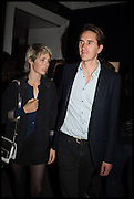 EDIE CAMPBELL; ISAAC FERRY, theby's Frieze  week party. New Bond St. London. 15 October 2014.