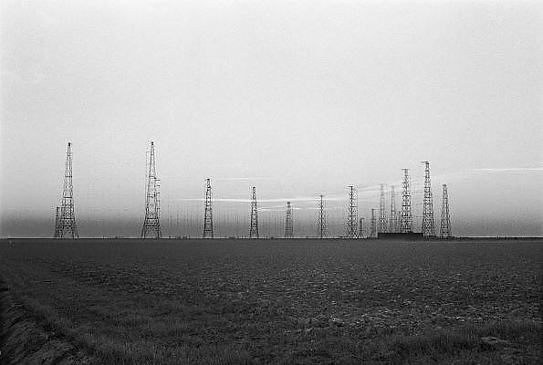 Nederland, Zeewolde, 20-10-1985Zenderpark van Nozema. Van hieruit worden de uitzendingen van Radio Nederland Wereldomroep de ether ingestuurd.Foto: Flip Franssen/Hollandse Hoogte