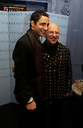 Zac Posen and his father Stephen Posen .  Zac Posen Spring/ Summer collection launch party. The Blue Bar, Berkeley Hotel. London. 7 March 2004. Dafydd Jones,  ONE TIME USE ONLY - DO NOT ARCHIVE  © Copyright Photograph by Dafydd Jones 66 Stockwell Park Rd. London SW9 0DA Tel 020 7733 0108 www.dafjones.com