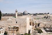Israel, Jerusalem Old City, Temple mount Al-Aqsa Mosque
