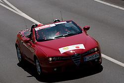 Directors car at 1st stage of Tour de Slovenie 2009 from Koper (SLO) to Villach (AUT),  229 km, on June 18 2009, in Koper, Slovenia. (Photo by Vid Ponikvar / Sportida)