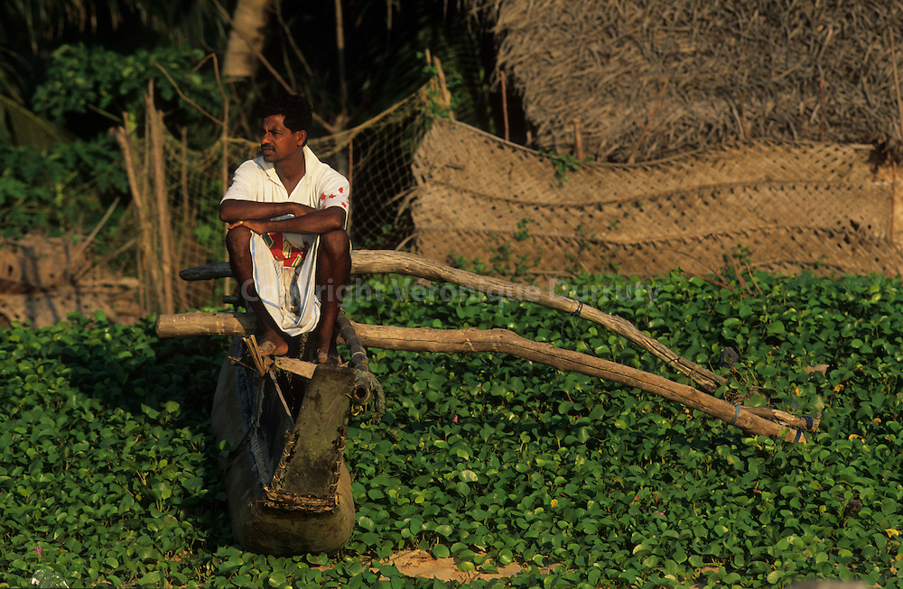 Fishermen village of Tangalle