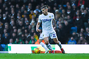 Kalvin Phillips of Leeds United (23) in action during the EFL Sky Bet Championship match between Leeds United and Bristol City at Elland Road, Leeds, England on 24 November 2018.