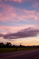 Pastel Sky at Dawn. 9 of 13 Images taken with a Leica X2 camera and 24 mm f/2.8 lens (ISO 125, 24 mm, f/2.8, 1/30 sec). Raw images processed with Capture One Pro and the panorama generated using AutoPano Giga Pro.