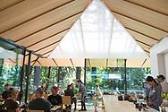 The Umami Caf&eacute; at the Portland Japanese Garden. Oregon, USA<br /> <br /> Photo by Christina Sjogren