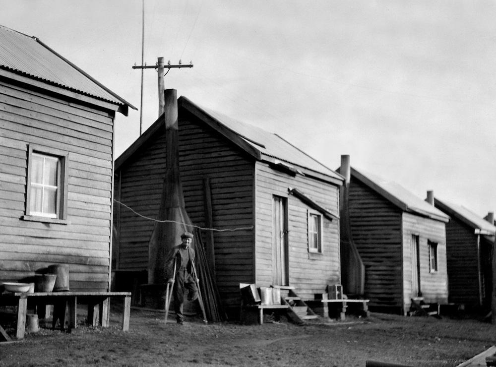 State Saw Mill, Bachelors' Quarters, Pemberton, Western Australia, 1930