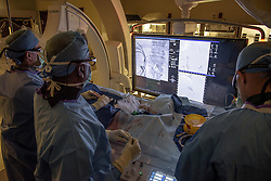 Dr. Raj and his team work with Siemens imaging equipment at the University of Miami.