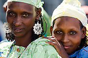 Refugee women from Central African Republic at the Garga Sarali integrated health center in the town of Garga Sarali, near Bertoua, Cameroon, on Tuesday September 15, 2009..