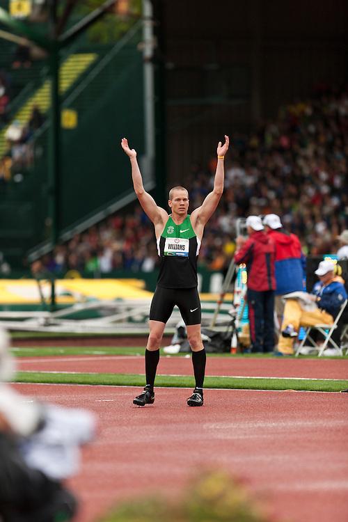 Men's High Jump, Jesse Williams