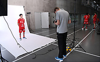 Volleyball 1. Bundesliga  Saison 2019/2020  Media Day Fotoshooting  TV Rottenburg  06.09.2019 Taichi Kawaguchi (li)