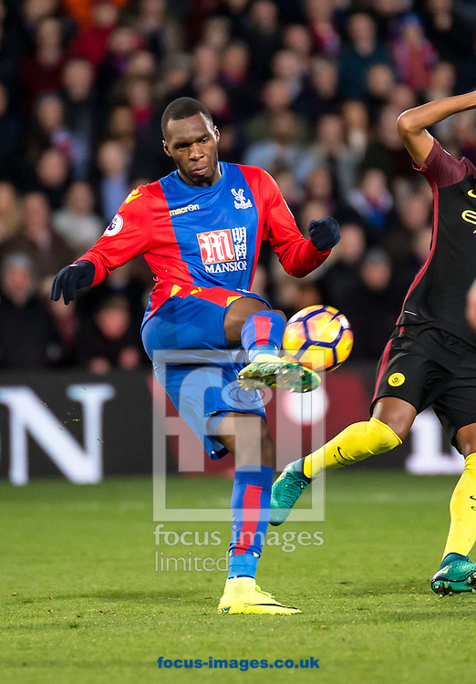 Christian Benteke of Crystal Palace during the Premier League match at Selhurst Park, London<br /> Picture by Liam McAvoy/Focus Images Ltd 07413 543156<br /> 19/11/2016