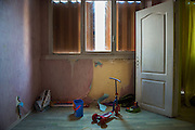 10 years ago, on 27 October 2005 riots broke out in the French suburbs.  It started here with the death of two boys, in Clichy sous Bois, 15 km from Paris, an economically deprived suburb. Bedroom for 4 children of single mother from Cameroon in the housing complex 'Chene Pointu'. 20 January 2015, Clichy sous Bois, France