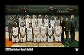 Hurricanes Women's Basketball Team Photos