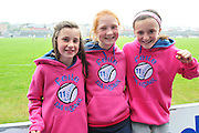 Oranmore-Maree players at Pearse Stadium in the Féile na nGael 2011. Photo:Andrew Downes.