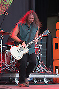 Woody Weatherman of Corrosion of Conformity performs at Knotfest 2015 on Saturday, October 24, 2015, at San Manuel Amphitheater in Devore, California. (Photo by: Charlie Steffens)