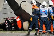 October 8-11, 2015: Russian GP 2015: Crash aftermath of Carlos Sainz Jr., Scuderia Toro Rosso